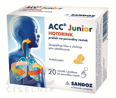 ACC JUNIOR HOTDRINK plo por 200 mg 1x20 vrecúšok